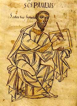 Ein bekannter Namensträger: der Apostel Paulus