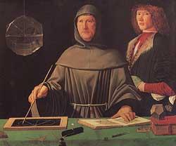 Ein bekannter Namensträger: Luca Pacioli - italienischer Mathematiker und Franziskaner