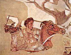 Ein bekannter Namensträger: Alexander der Große.